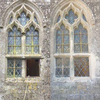 Tracery window repairs in Rutland