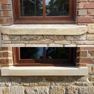 Window sill repairs in Lincolnshire