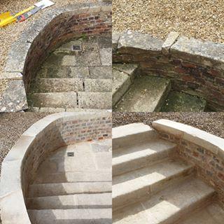 Coping and step repairs in Rutland